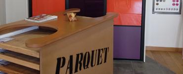 Showroom d'Alzon menuiserie : différents parquets disponibles
